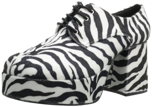 Funtasma by Pleaser Men's Jazz-02 Platform Oxford - Zebra...