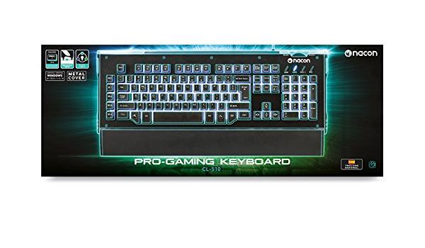 NACON Gaming Keyboard PC: Amazon.es: Videojuegos