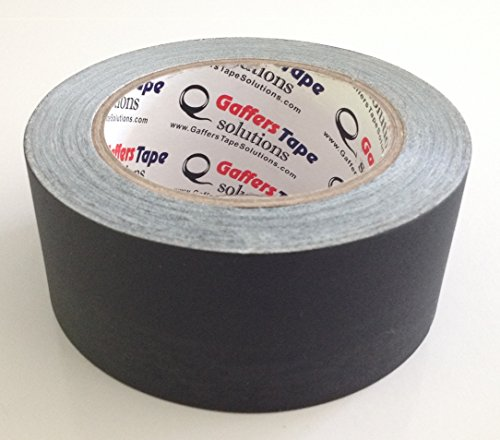 Gaffers Tape Solutions Matte Black Gaffer Tape, 2-Inch x 30-Yards, Non Reflective Black (Best Dslr For Cinematography)
