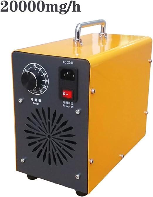 ZZQH 20000mg/h Generador de Ozono, Ionizador de Ozono Portátil ...