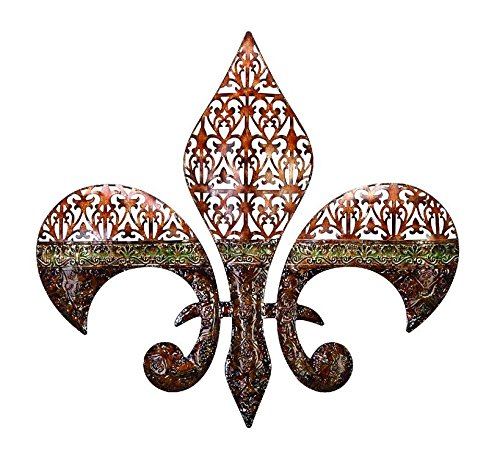 Deco 79 Metal Wall Decor Excellent Fleur Di Lis on Metal Wall - Fleur Lis Metal De