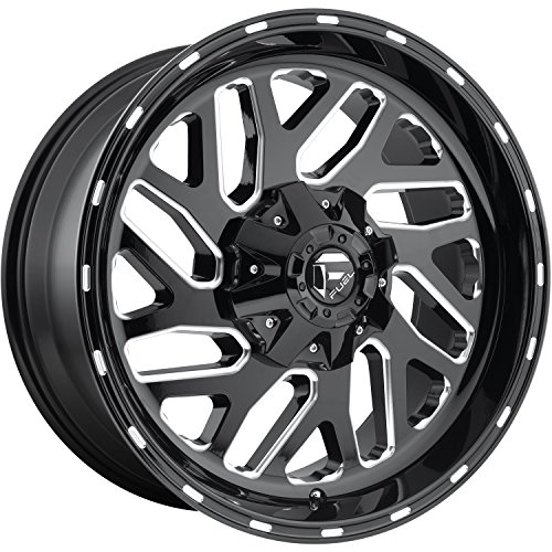 Amazon Com Fuel Triton Black Wheel With Painted Finish 20 X 9
