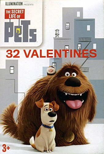 [32 Secret Life of Pets Valentines] (Group Office Costumes)