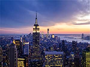 Beautiful New York With Empire State Building A0 A1 A2 A3 A4 poster a1675h