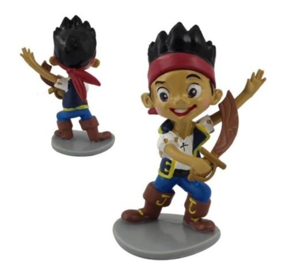 Jake Pirates Playset 7 Figure Cake Topper Toy Doll Set by  (Image #2)