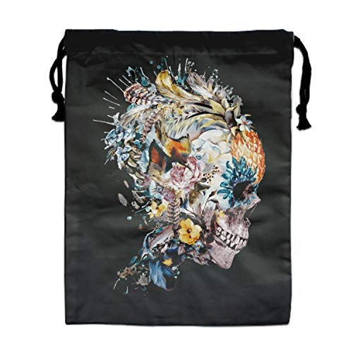 Party Favors Bags Momento Mori VII Designs, Cartoon Gift Candy Drawstring Bags Pouch, Treat Goodie Bags Kids Girls Boys Birthday
