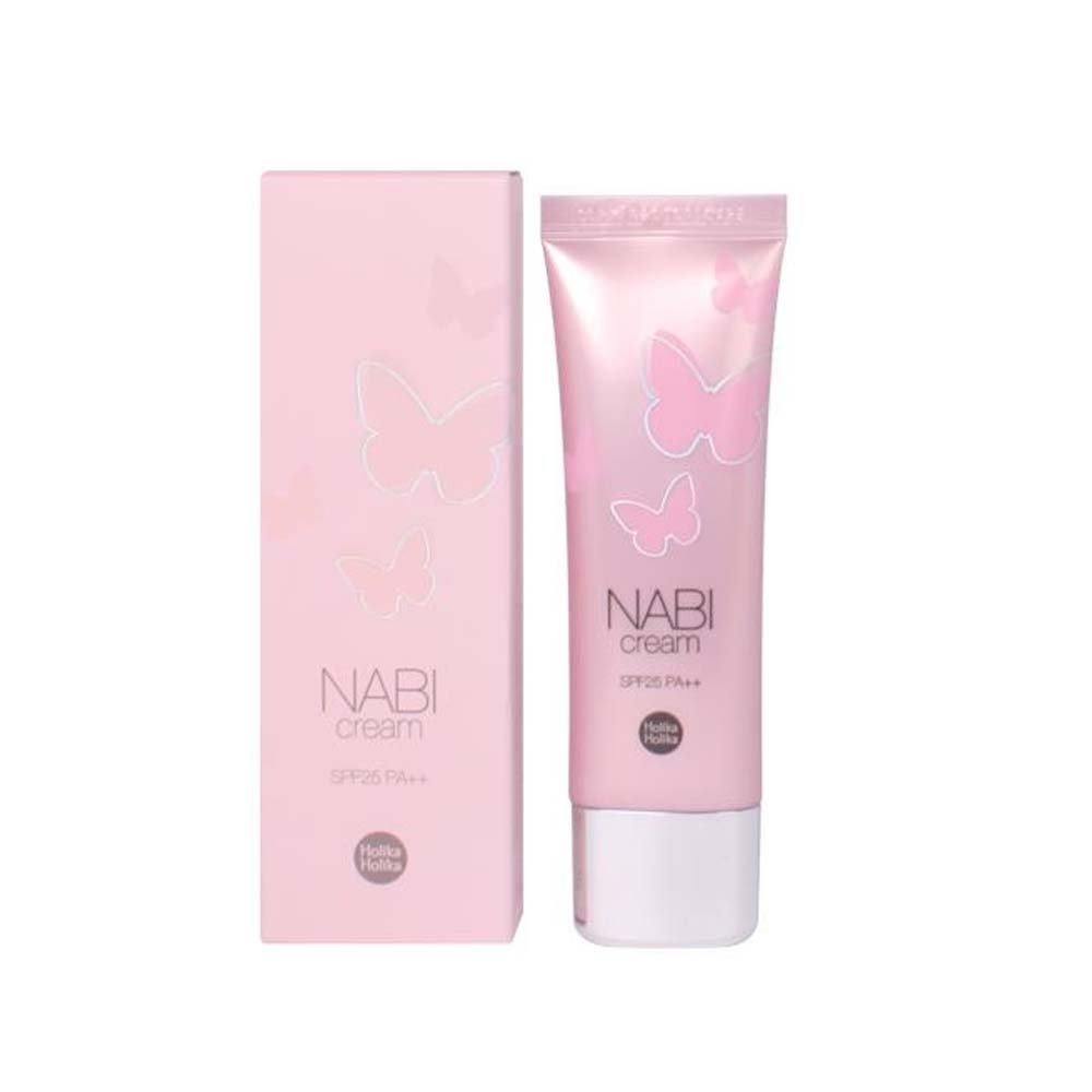 [Holika Holika] Nabi Cream SPF25 PA++ 50g (#Lovely Pink) 8809305992636