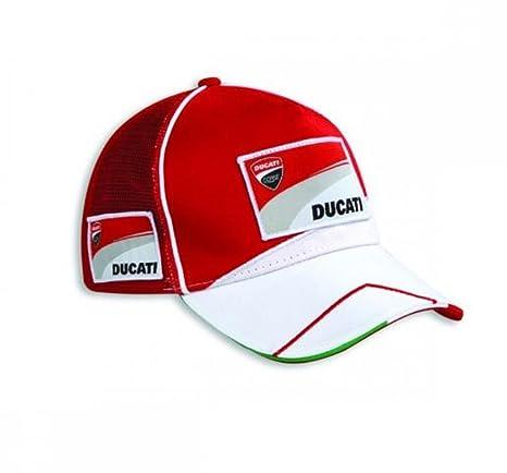 Amazon.com  Ducati  17 Embroidered Moto GP Team Replica Hat Red ... 153ed306038c