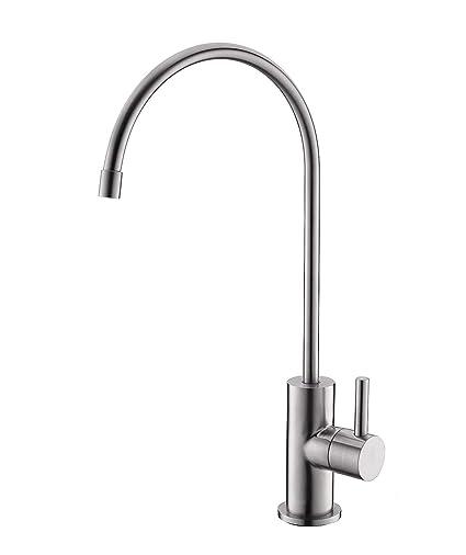 Havin SUS304 acero inoxidable potable purificador de agua de grifo, grifo, grifo de ósmosis inversa, cepillado níquel