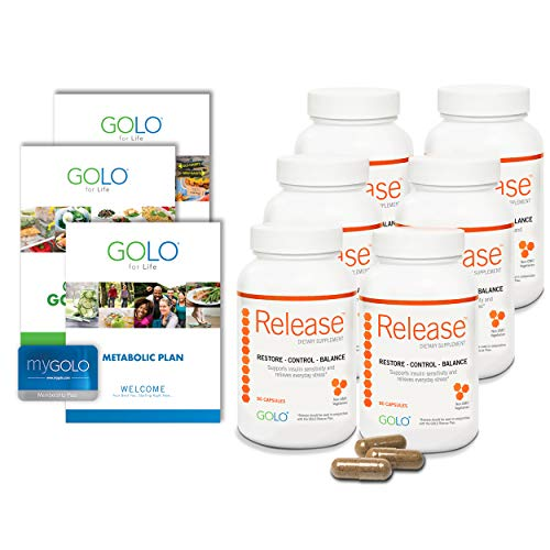 GOLO Metabolic Plan (180 Day Supply)