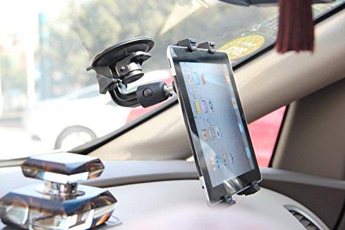 Soporte para Parabrisas con Ventosa para Tablet, Color Negro, Apto para Camiones, Coches, Tractores, GPS para BMW Alpina Xd3...