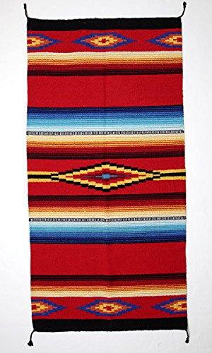 Amazon Com Saltillo Rug Mat 20 X40 Handmade Mexico Artisan Woven