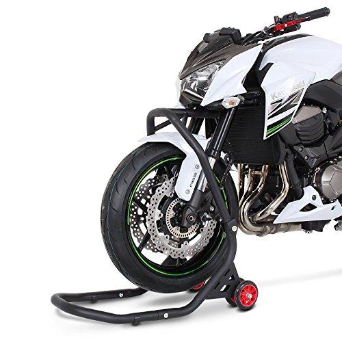 Motorrad Lenkkopf-Montagest/änder Suzuki GSX-R 1000 01-15 Inkl ConStands Adapterset Vorne Falcone Frontheber