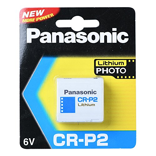 Crp2 Digital Camera Battery (1 PCS PANASONIC CR-P2 LITHIUM 6V BATTERY PHOTO POWER DL223A EL223AP DATE 2023)