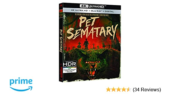 287eeaba Amazon.com: Pet Sematary [Blu-ray]: Fred Gwynne, Dale Midkiff, Mary ...