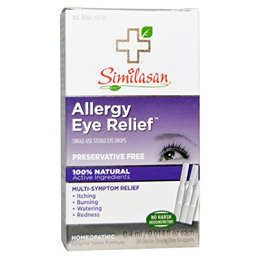 Similasan Monodose Eye Drops - Similasan Eye Drops #2 Monodose 20 singl ( Multi-Pack)