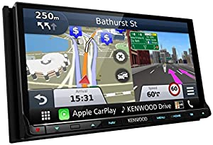 kenwood dnx 8160dabs double din wgva motorised slide and. Black Bedroom Furniture Sets. Home Design Ideas