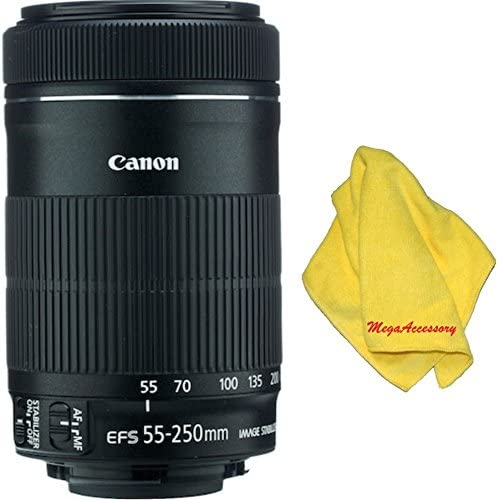 MEGAACC Microfiber Cloth Canon 55-250mm IS STM Lens