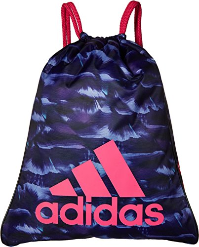 adidas Burst Sack Pack, One Size, Cosmic Collegiate Purple/Shock Pink