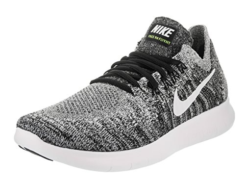White Flyknit NIKE Free Scarpe Donna Run Black Running volt 2017 wP8ERP
