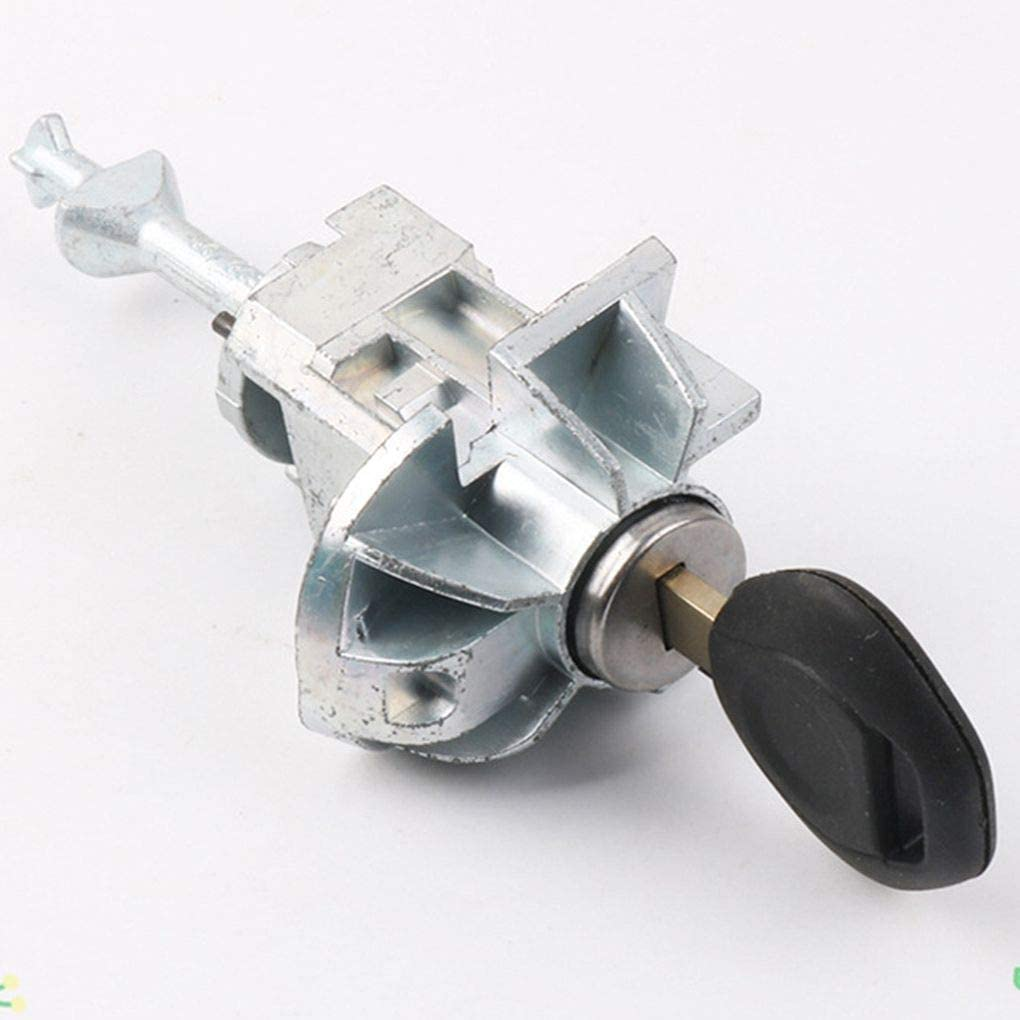 Fornateu Linke-Treiber Autot/ürschloss Key Zylinderumfassungsanordnung mit 2 Schl/üssel f/ür X5 Durable Autoteile