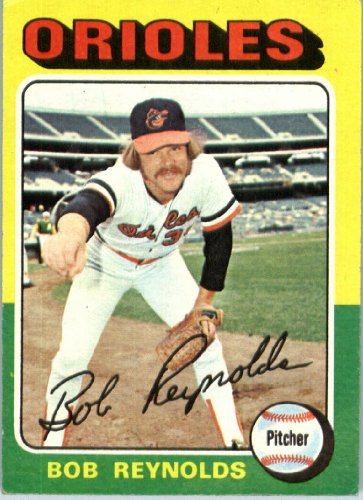 - 1975 Topps Baseball Card #142 Bob Reynolds