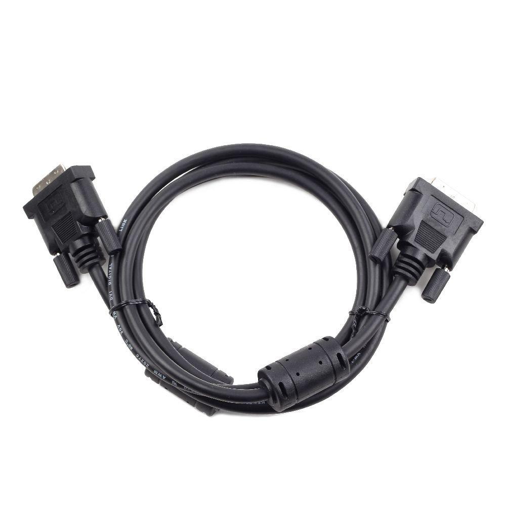 1.80M M//M Single Negro Cable DVI-D A DVI-D 18+1