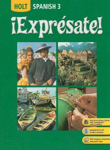 ¡Expresate!-Spanish-3