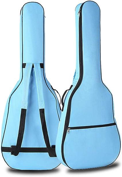 Yiwa - Funda blanda para guitarra acústica (41 pulgadas), azul ...