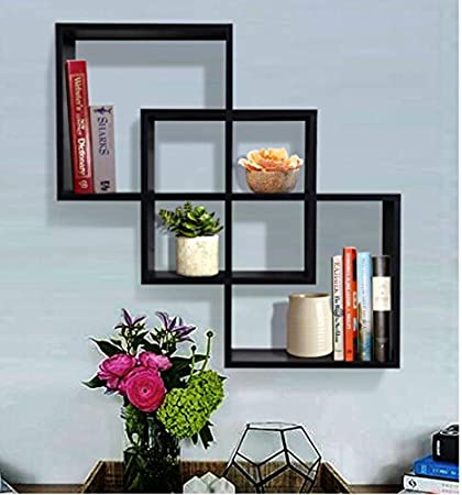 for home en x floating decoration wall shelves wood shelf decorative