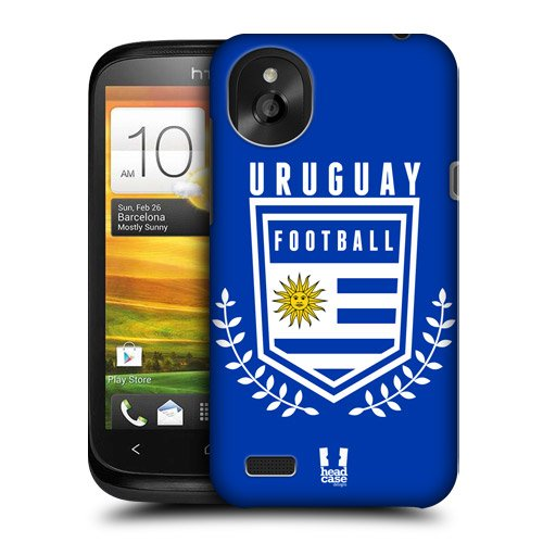 Head Case Designs Uruguay Football Crest Protective Snap-on Hard Back Case Cover for HTC Desire X