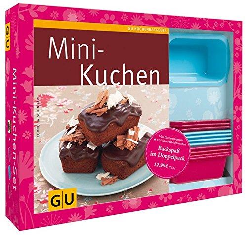 Mini-Kuchen-Set: Plus 12 Mini-Förmchen aus Silikon (GU Buch plus) GU Buch plus Taschenbuch – 8. September 2012 Cornelia Schinharl GRÄFE UND UNZER Verlag GmbH 3833829249 Backen