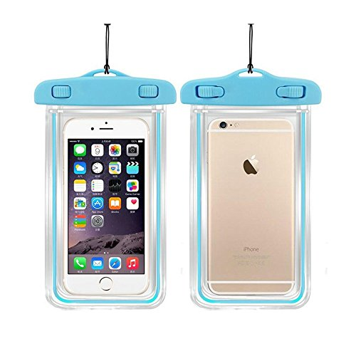 - Universal Waterproof Case, CaseHQ 1Pack Clear Transparent Cellphone Waterproof, Dustproof Dry Bag With Neck Strap for iPhone 8,8plus,7,7 Plus,6S,6S Plus,google pixel,and All Devices Up to 5.8 Inches