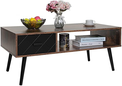 IWELL Mid-Century Coffee Table