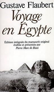 Voyage en Egypte, Flaubert, Gustave