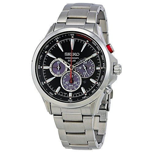 Seiko-Mens-SOLAR-CHRONOGRAPH-Quartz-Stainless-Steel-Casual-Watch-ColorSilver-Toned-Model-SSC493