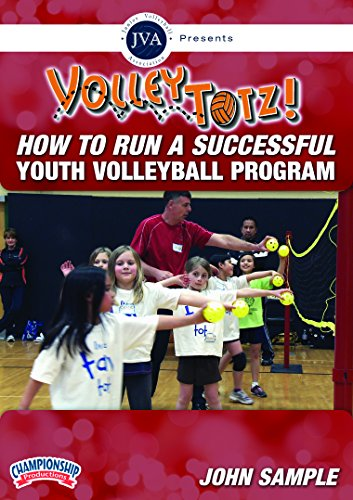 Championship Productions John Sample: Volleytotz How to Run A Successful Youth Volleyball Program DVD - Volleyball Coaching Dvd
