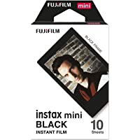 instax 16537043 Colorfilm Instax Mini Black Frame WW 1, Svart, Paket med 10