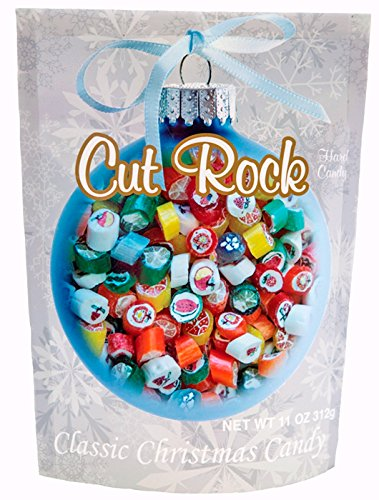 Primrose Cut Rock Hard Candy - Classic Christmas Candy in 11 oz Holiday Retail Package - Ideal Gourmet Food Gift - Old Fashion ()