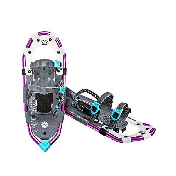 WildHorn Outfitters Sawtooth Snowshoes for Men and Women. Fully Adjustable Bindings,...