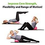 URBNFit Mini Excersice Pilates and Yoga Ball Pink