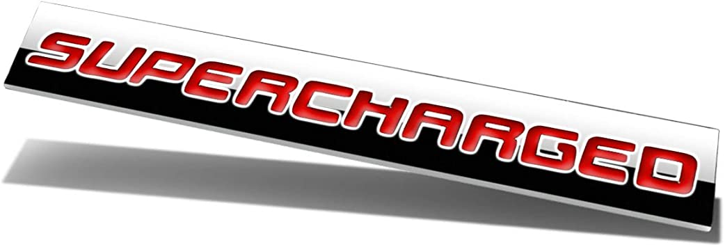 1x Metal Black Red LIMITED EDITION Sticker Badge Emblem Motorsport Supercharged