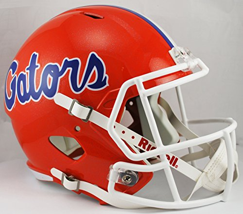 NCAA Florida Gators Full Size Speed Replica Helmet, Orange, Medium by Riddell