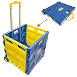 Toolzone Extra Large Folding Storage Cart Trolley 35Kg Capacity by Toolzon
