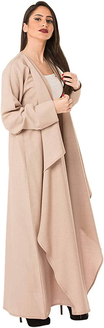 Beige Casual Abaya For Women