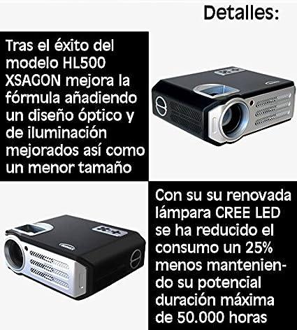 Proyectores, XSAGON Proyector Portátil 2200 lúmenes LED Mini ...