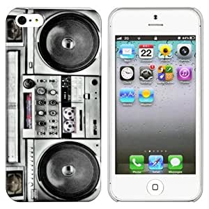 CommonByte Retro Boombox Boom Box Stereo Hard Snap Cover Case For iPhone 5 5G US Free ship