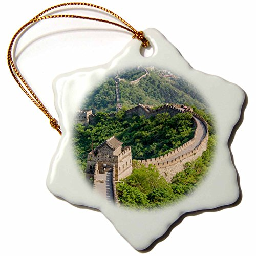 Snowflake Ornament China (3dRose