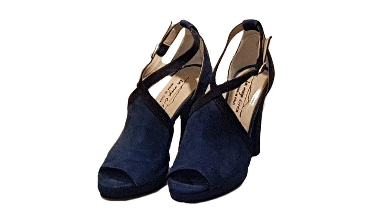 La Maga Blu Circe Damen Pumps Blau Blu Maga + Denim - 5266f7