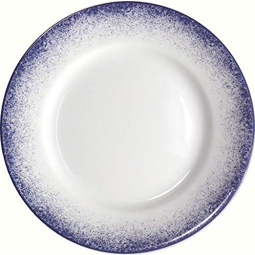 Royal Limoges Blue Fire Dessert Plate